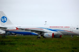 Shannon Airport 2011 106 A320 Vladivostok Airlines
