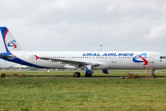 Shannon Airport 2011 386 A321 Ural Airlines