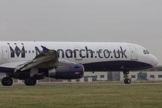 G-OZBN Monarch A321 LBA 060113