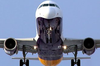 Monarch Airlines A321 G-OZBM