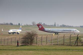 Hevetic - Fokker 100 - HB-JVC
