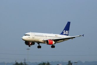 Scandinavian Airways A319 OY-KBP
