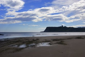 Scarborough Castle North Beach