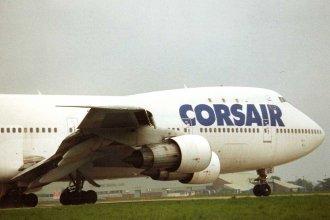 Corsair 747 at LBA/EGNM