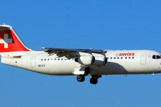Swiss RJ100 HB-IXV