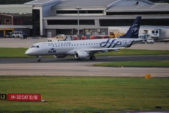 KLM Skyteam EMB190 PH-EZX