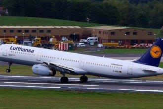 Lufthansa A321 D-AISD