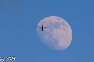 EI-FCY flying to the moon