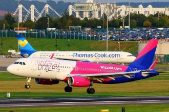 Wizz Air A320 HA-LYT