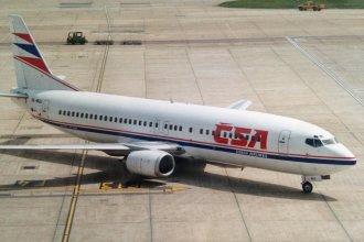 CSA Czech Airlines 737