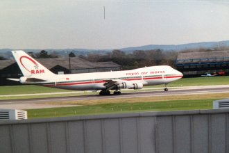 Royal Air Maroc 747