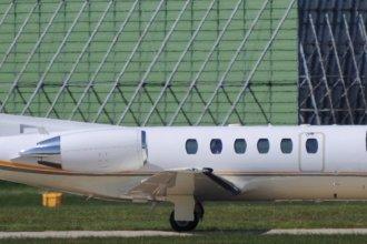 SFD Stuttgarter Flugdienst Citation 550B D-CHZF at Manchester Airport 03.05.2017