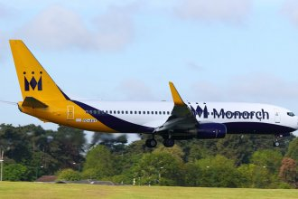 MONARCH BOEING 737-800 TC-AAY