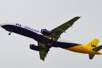 Monarch Airbus A321 G-OZBH