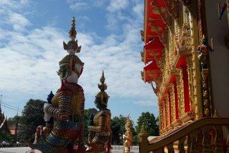 Buddhist temple Khao Lak Thailand