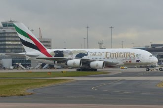 "Emirates ""United for Wildlife"" A388 MAN 21/02"