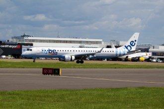 Flybe Embraer E195 G-FBEI