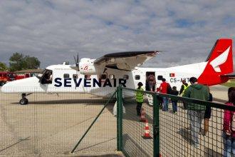 Portimao Aerdrome Algarve. Dornier 328 Seven Air
