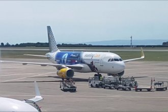 Vueling and Iberia Express at Cardiff Airport