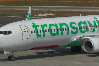 Transavia PH-HXK at Palma