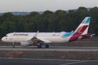 Eurowings A320 D-AEWQ