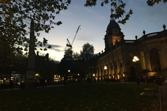 103 Colmore Row crane now complete