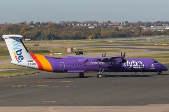 FLYBE DHC DASH 8-400 G-ECOH
