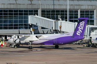 FLYBE DHC DASH 8-400 G-JECP