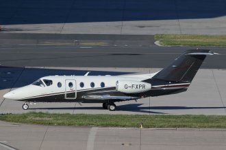 FLAIRJET HAWKER 400XTI G-FXPR