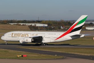 EMIRATES A380 A6-EOS