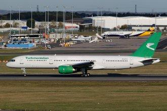 TURKMENISTAN BOEING 757 EZ-A014
