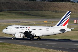 AIR FRANCE A318 F-GUGD