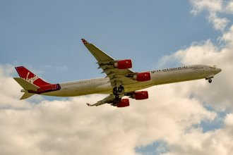 Virgin Atlantic A340-642