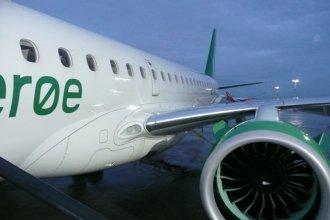 Wideroe at Liverpool E190