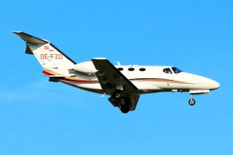 Globe Air Cessna 510 Citation Mustang