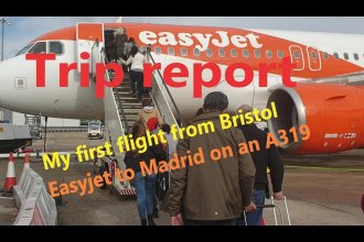 Trip Report: My first flight from Bristol with Easyjet to Madrid on an A319