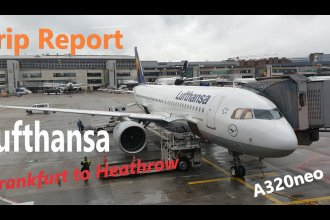 Trip report: Frankfurt to Heathrow with Lufthansa on the A320neo