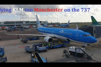Trip report: Amsterdam to Manchester with KLM