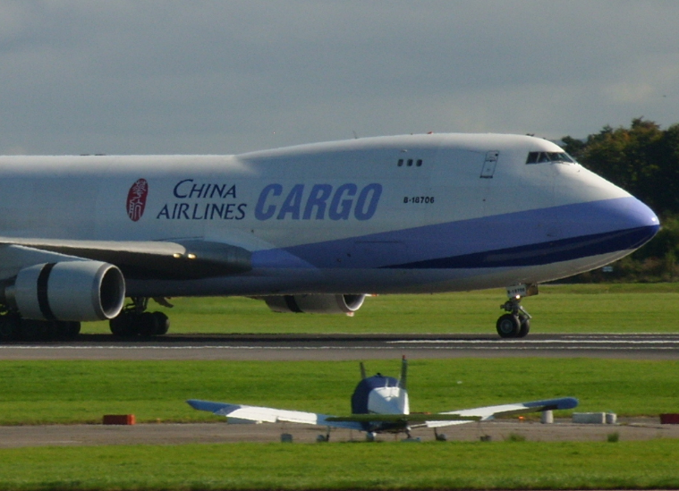 China Airlines 747 Freighter